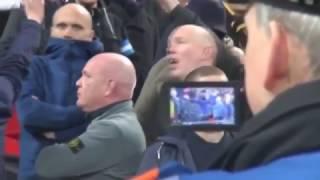 getlinkyoutube.com-Hooligan riot at Wembley - England vs. Scotland (11/11/16)