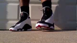 "getlinkyoutube.com-Air Jordan 13 ""He Got Game"" Details and On Feet"