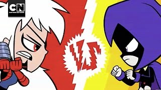 getlinkyoutube.com-Raven vs. Ravager I Teen Titans Go! I Cartoon Network