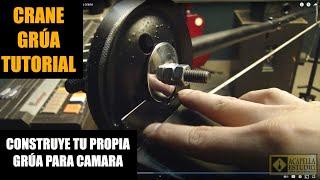 getlinkyoutube.com-Grua casera para camara  - Camera crane - test camera crane