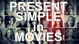 Present Simple (I DO) through movies. Learn English grammar with your favourite celebrities