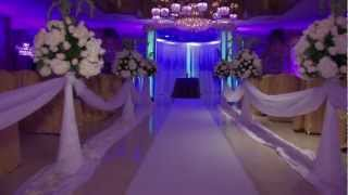 getlinkyoutube.com-Wedding @ Leonard's La Dolce Vita Flowers decoration by Vip Flowers Queens NY 2013