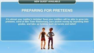 getlinkyoutube.com-Sims Freeplay | Preparing For Preteens