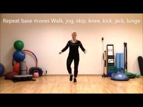 Jump Rope jumping 1 | Rope Fitness Fun | Marina Aagaard, MFE