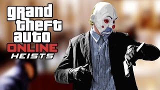 "GTA 5 Online - How to dress up like ""The Joker's Heist Outfit"" (Joker's Robbery Costume)"
