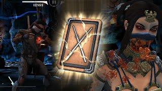 getlinkyoutube.com-Mortal Kombat X Mobile - Final Tower Walkthrough and Silver Kenshi [HD/HQ 60fps]