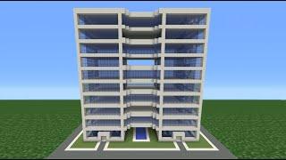 getlinkyoutube.com-Minecraft Tutorial: How To Make A Modern Hotel -  4