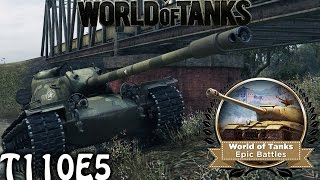 getlinkyoutube.com-Wot Epic Battle - T110E5 Tons of medals