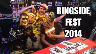 RINGSIDEFEST 2014!! Meeting Roman Reigns, Bella Twins, Dean Ambrose Goldust and STARDUST!