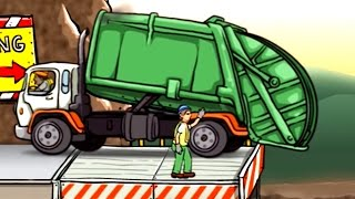 getlinkyoutube.com-เกมส์ รถขยะ รถบรรทุกขยะ ทำภารกิจ - Garbage Truck วีดีโอสำหรับเด็ก