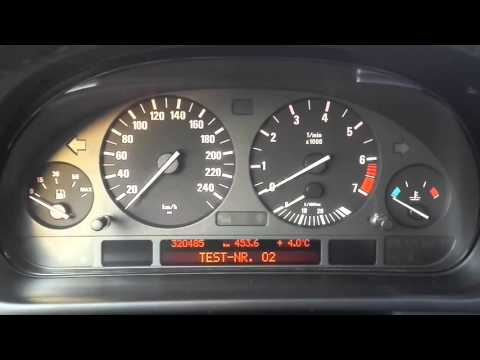 Разблокировка скрытого меню на БМВ Е39 BMW E39 - secret menu unlock