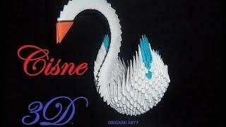 getlinkyoutube.com-Cisne origami 3D paso a paso