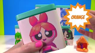 Power Puff Girls & PJ Masks Toy Surprise Blind Boxes Stop Motion Fun