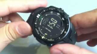 getlinkyoutube.com-Casio Protrek PRW3000-1A Solar Atomic Blackout Watch PRW-3000-1A