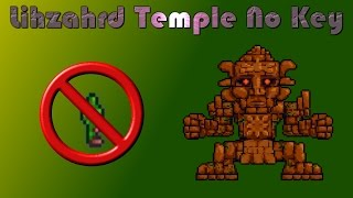 getlinkyoutube.com-Terraria Tutorial | How To Get Into The Lihzahrd Temple No Key!