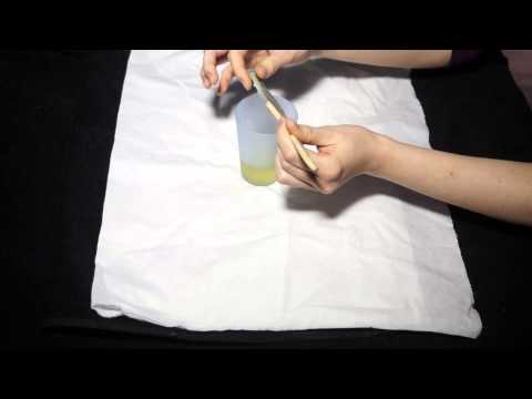 Paraffin Wax Brush Cleaning