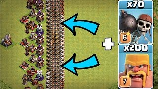 getlinkyoutube.com-IMPOSSIBLE WALL BASE!!🔸THE GREAT WALL!!!🔸Clash Of Clans