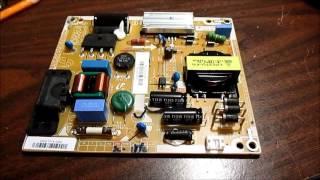 getlinkyoutube.com-Vizio E320i-A0 powersupply board diagnosis and failed repair