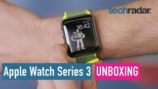 Apple Watch Series 3 unboxing video
