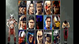 getlinkyoutube.com-Mortal Kombat 3 Super Nintendo CÓDIGOS SECRETOS