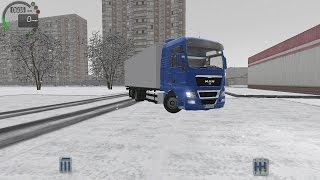 getlinkyoutube.com-City Car Driving 1.5.3 MAN TGS SNOW [G27]