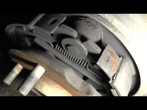 Где находятся задние тормозные диски у Mazda МПВ