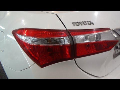 Как поменять все лампы и снять-установить задние фонари,? Toyota Corolla XI (E180).