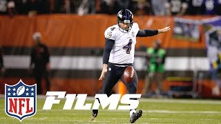 getlinkyoutube.com-Boomerangs, Knuckleballs, Hooks: How Sam Koch & the Ravens Changed Punting | NFL Films Presents