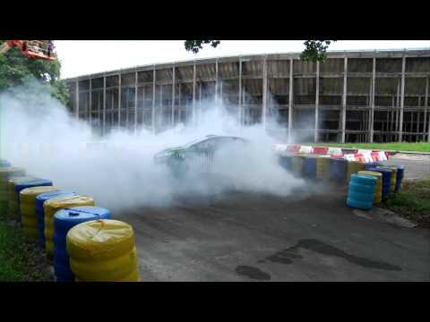 DC SHOES KEN BLOCK'S GYMKHANA THREE, PART 2 BONUS TRICK EDIT: DOUBLE DONUT