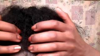 getlinkyoutube.com-How To Make Your Crochet Braids Look Natural : Janet Collection Indi Remi Afro Jerry Curl, knot free