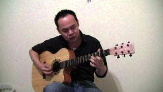 getlinkyoutube.com-Vung La Me Bay Guitar (cover)