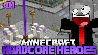 VERLASSENE STADT? - Minecraft Hardcore Heroes 2 - #01 [Deutsch/HD]