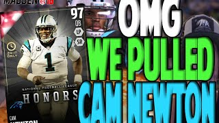 getlinkyoutube.com-OMG 24 HOUR CAM NEWTON PULL!! NO F*CKING WAY | MADDEN 16 ULTIMATE TEAM PACK OPENING