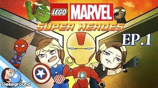 getlinkyoutube.com-헐크&아이언맨 잠뜰!! [레고 마블 슈퍼히어로즈 #1편] - LEGO MARVEL Super Heroes - [잠뜰]
