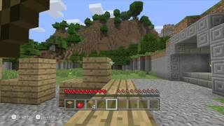 Minecraft: Wii U Edition footage