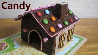 getlinkyoutube.com-meiji #3 - Chocolate house making kit