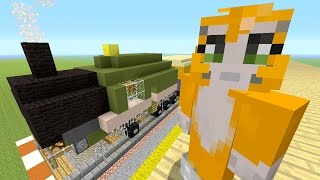 getlinkyoutube.com-Minecraft Xbox - Building Time - Train Station - Double Special {34}