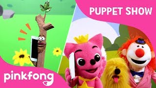 Sticky, the Stick | Puppet Show | Pinkfong Songs for Children width=
