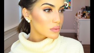 getlinkyoutube.com-Sculpted Highlighted Cheeks with NARS!