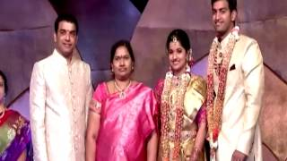 getlinkyoutube.com-My Daughter Hanshitha Marriage With  Archit Reddy || video  || SVSC Song ||