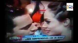 El beso de Ronico y Eloisa (Calle 7 Bolivia)
