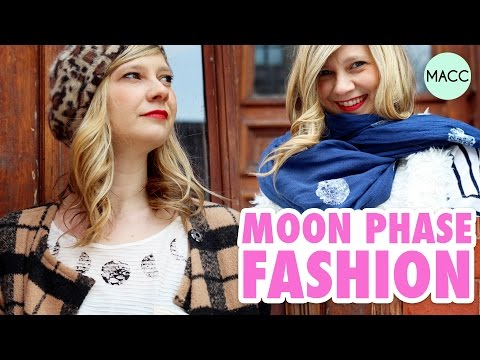DIY Fashion: Moon Phase Shirt & Scarf