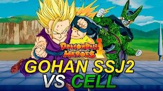 getlinkyoutube.com-GOHAN SUPER SAIYAN 2 VS CELL - Dragon Ball Heroes   iTownGamePlay