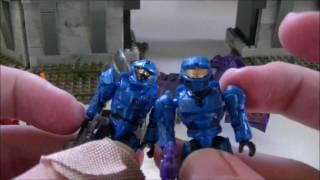 getlinkyoutube.com-Mega Bloks Halo Versus High Ground Review