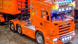RC Truck SPECIAL! Fantastic R/C Scania trucks in Action!