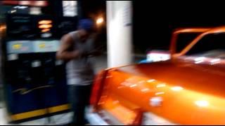 getlinkyoutube.com-Orange Cadillac Fleetwood in Camilla Block Party!!