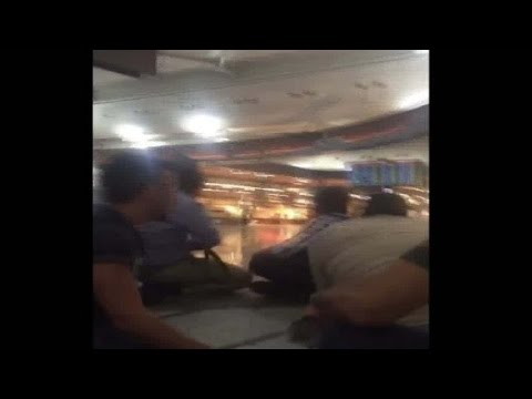 Istanbul airport attack: Video from inside terminal