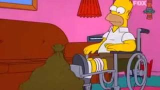 getlinkyoutube.com-Los simpson - Cruce perro y gato