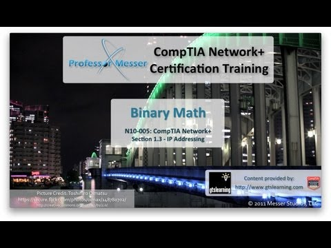 CompTIA Network+ N10-005: 1.3 - Binary Math