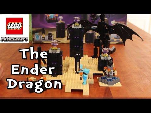 The Ender Dragon - LEGO Minecraft Set 21117 - Timelapse Build